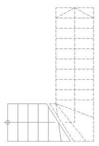 viertelgewendelte treppe verziehen